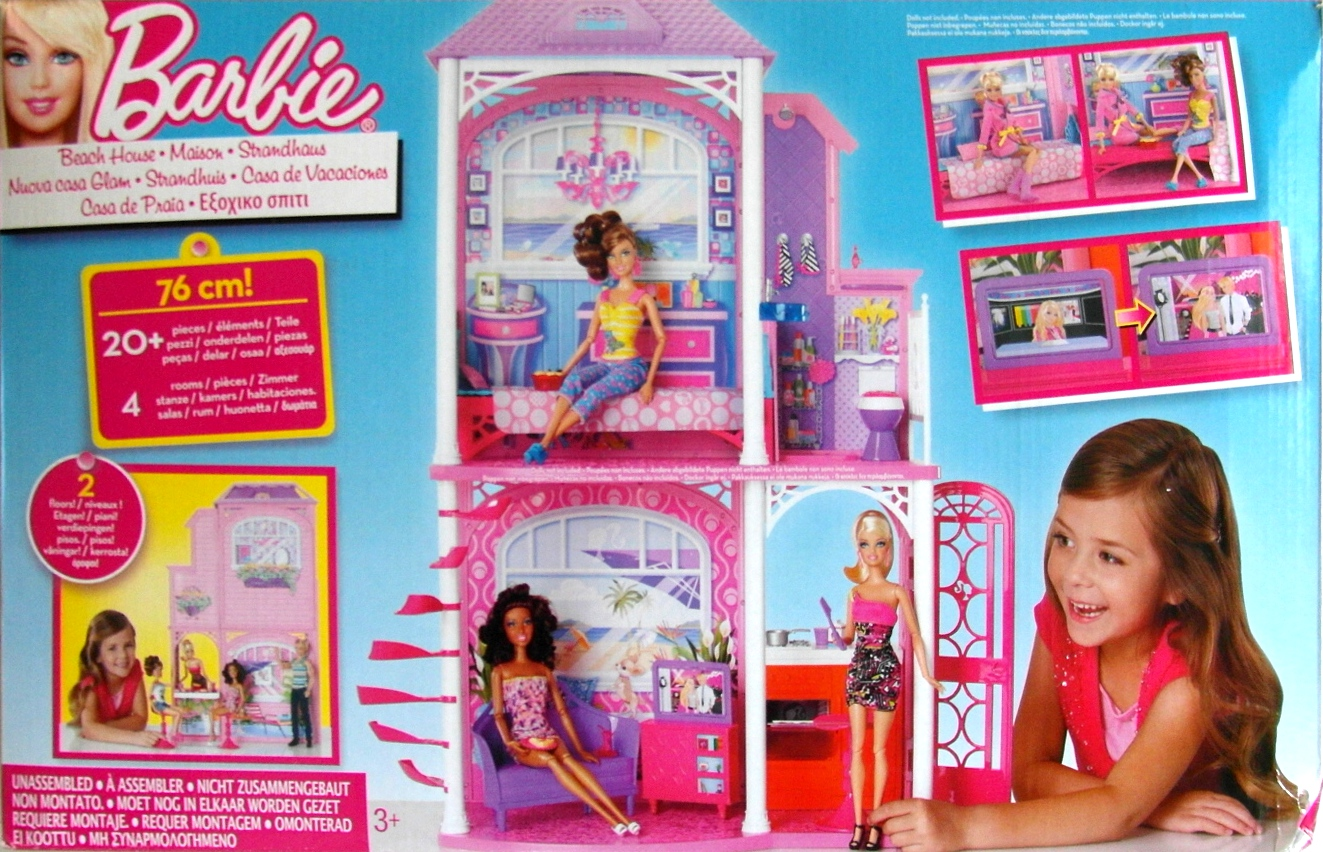 About new barbie 2 storey beach house by mattel brand new and boxed