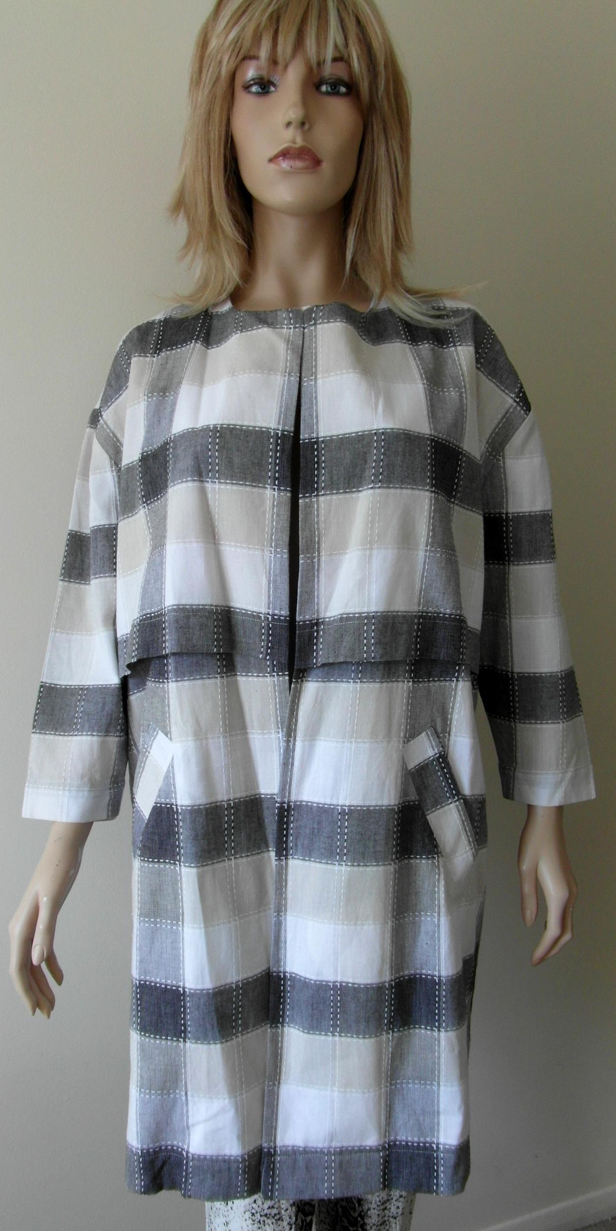 Dettagli su Donna atterley Lungo Kimono ROAD stile Cocoon Giacca Abito Maniche A 34 Loose Fit mostra il titolo originale